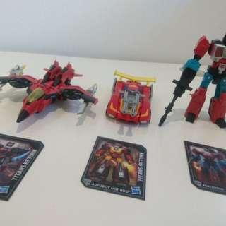 Transformers Titan Returns: Perceptor + Hot Rod + Windblade