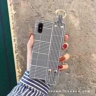 Note9手機殼 手機套 保護殼 保護套 千鳥格