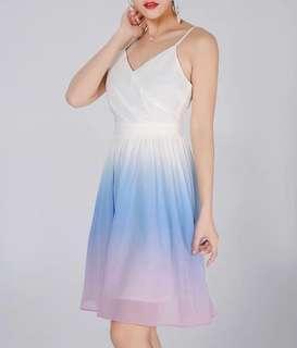 🔥BRAND NEW! $25 Topazette Paddle pop pastel ombré dress BNIP BNWT