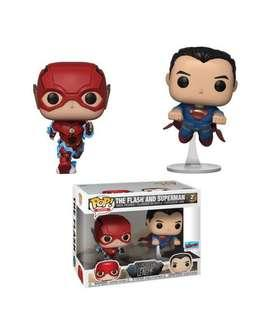 The Flash and Superman 2 pack