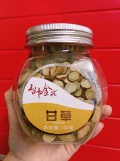 甘草片 100g