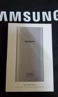 全新 三星 Samsung 10,000mAH 雙向快速充電器