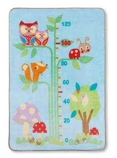 🚚 Baby City 小樹身高尺盒裝童毯