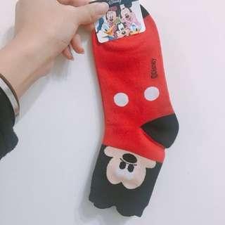 🚚 !!全新!!韓國 正版 迪士尼 米奇襪子