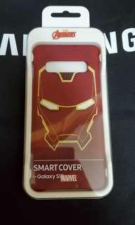 全新 原裝 Samsung S10 Marvel Ironman Smart Cover 手機殼 case