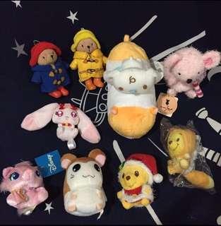 Disney Winnie the Pooh/Sanrio 肉桂狗/哈姆太郎/柏丁頓熊/鼠鼠