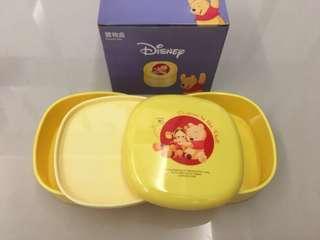 🚚 小熊維尼收納盒#小熊維尼 #迪士尼 #全新完整盒裝