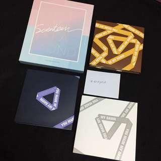 [WTS] SEVENTEEN OFFICIAL ALBUM DVD PHOTOCARD LENTICULAR CARD