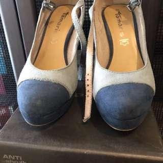 Tamaris high heels blue