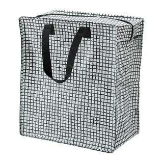 NEW IKEA 47L Black Zippered Storage Sack Bag (Australia)