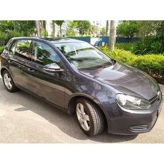 VOLKSWAGEN GOLF - CONTINENTAL HANDLING, SOLID, COMPACT & SPORTY, POWERFUL ENGINE GRAB/RYDEX/GOJEK READY!