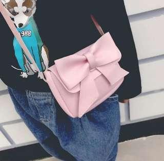 Mini Crossbody Bag Bowknot Leather Bag