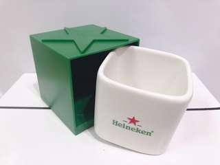🚚 ❤️ab愛亂買❤️海尼根Heineken 獨特設計 方型馬克杯