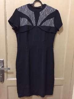 Dress Hitam Cucmey cantik banget