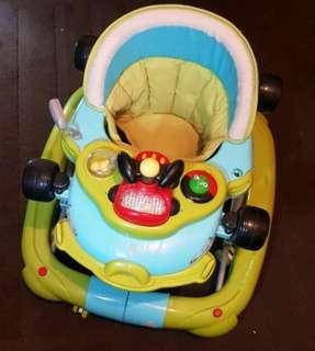 2-in-1 Baby Car Walker / Rocker