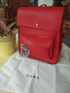 ZARA TRF Women backpack/ransel wanita (authentic)