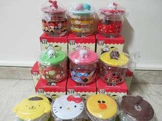 10pc Set Container Hello Kitty