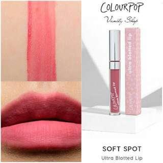 authentic Colourpop ultra blotted lip #MHB75