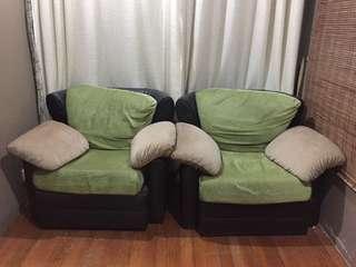 Single sofa (x2)