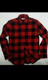 GAP Flannel Shirt Traditional Vtg Style 全新男裝恤衫