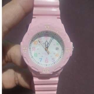 Jam tangan casio pink
