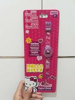 Digital Watch Hello Kitty