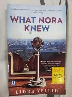 Linda Yellin What Nora Knew