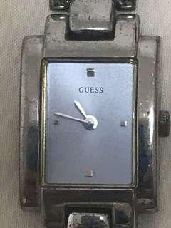Guess Sliver G Clasp Watch