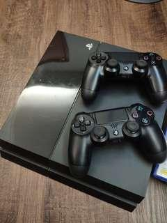 PS4 500GB 連2手掣 5隻game