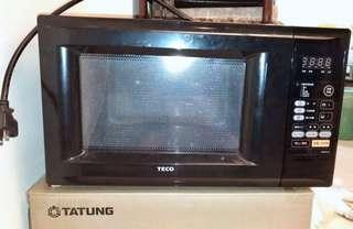🚚 TECO電子微波爐