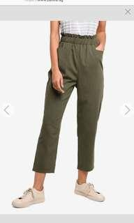 Zalora basics high waist trousers