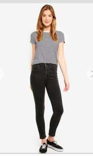 Factorie high rise skinny jeans