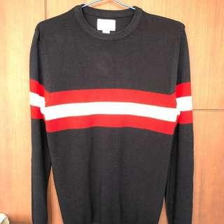 Sweater navy Strip red Pull and Bear uk S