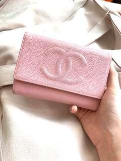 🈹Baby pink vintage CHANEL wallet   *not LV Hermès Gucci Fendi Givenchy Celine