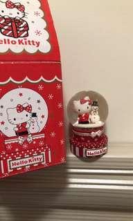 🚚 古董 Kitty  水晶球