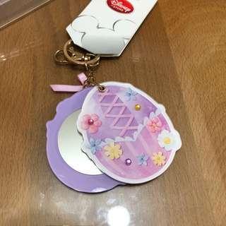 🚚 隨身 吊飾 鑰匙圈 迪士尼 長髮公主 樂佩 鏡子