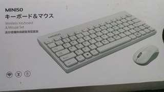 (New) Wireless Keyboard and Mouse Set MINISO
