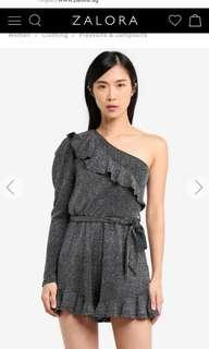 River island sless pippy playsuit