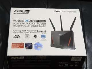 🚚 Asus wireless AC2900 RT-AC86U router