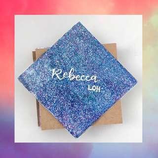Coaster for Bridesmaid - Customized / Personalized (Aurora)