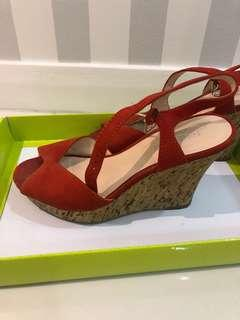 Nine West wedges - 3.5 inches