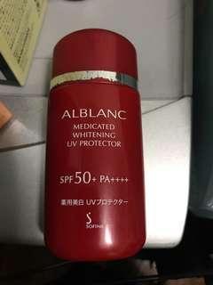 Sofia sunblock ALBLANC Medicated whitening UV protector