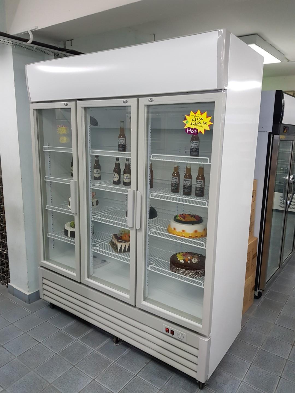 3doors display chiller