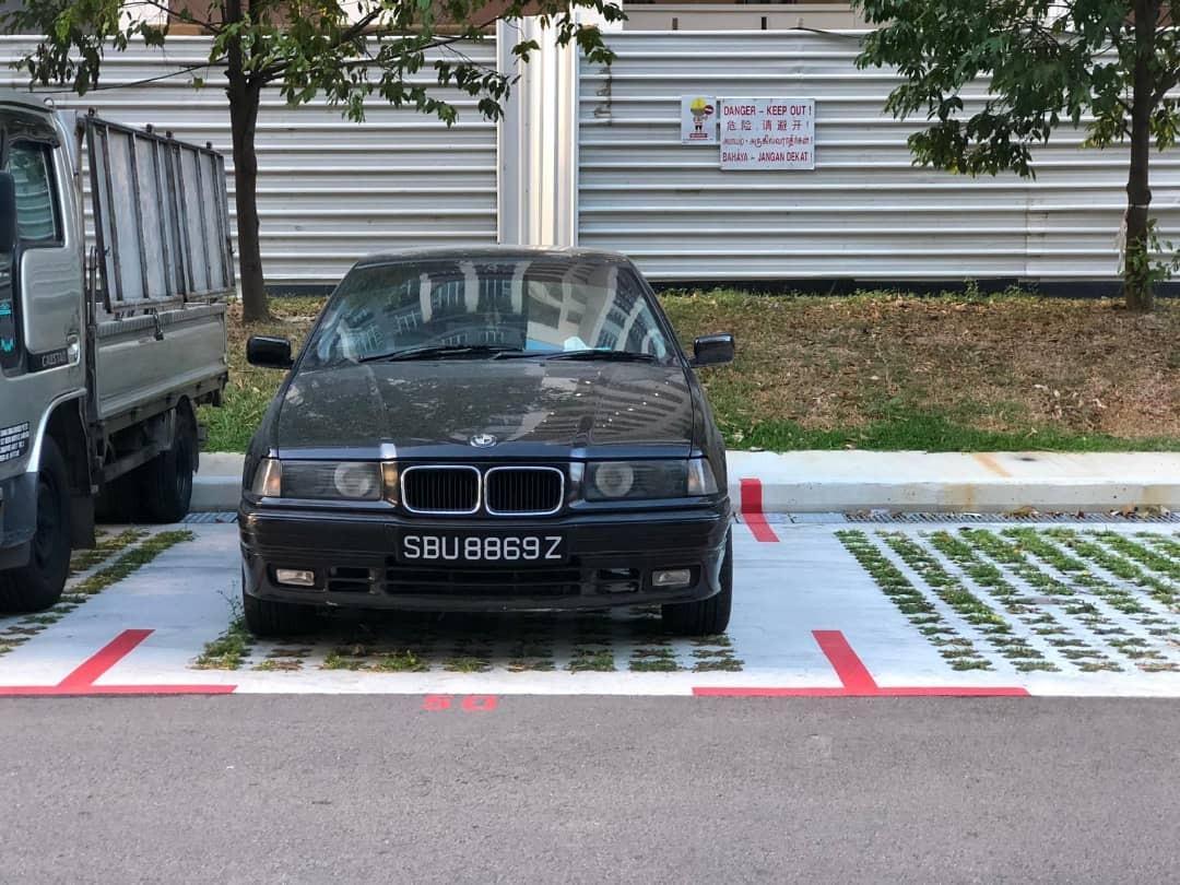 🇸🇬🚘🇸🇬🚘🇸🇬🚘🇸🇬🚘🇸🇬🚘🇸🇬🚘 BMW E36  *RM 5 500* COLLECT JB  KERETA/MOTOR SINGAPORE UNTUK SPARE PART TIADA GERAN/TIADA TUKAR NAMA/TIADA SURAT JUAL BELI/TIADA SERAH REPORT PAHAM KAN