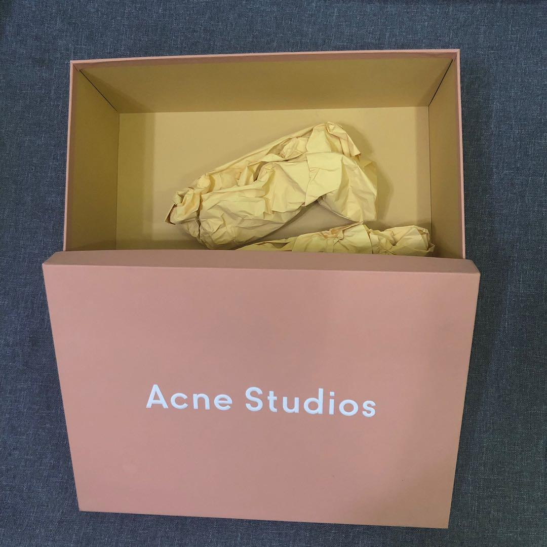 Acne gift packing paper box shoes box 鞋盒纸盒礼品盒收纳盒