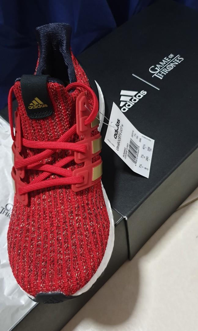 adidas ultra boost 4.0 game of thrones house lannister
