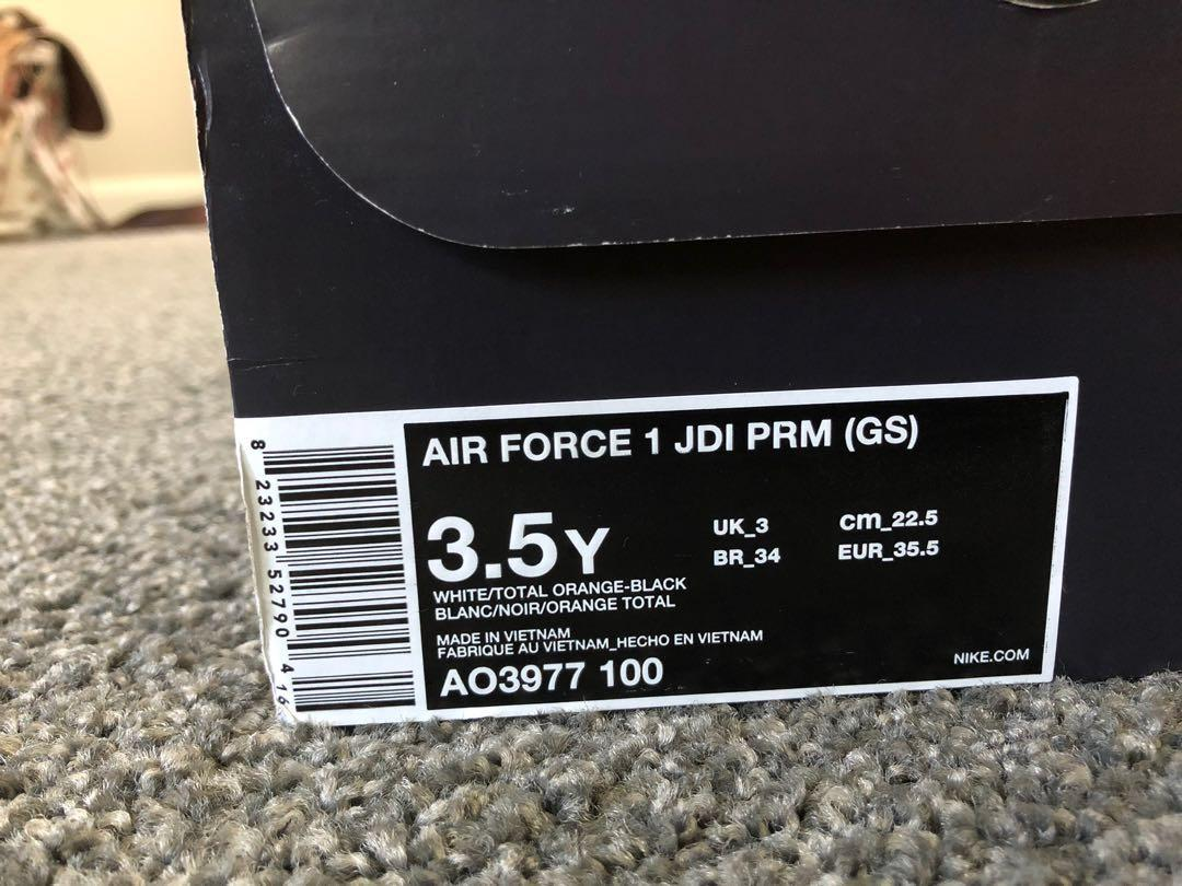 Air Force 1 JDI PRM (GS)