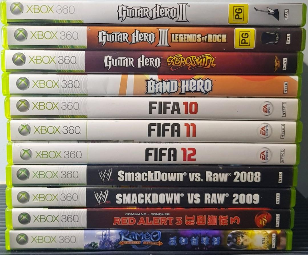 All for $20 Xbox 360 Games