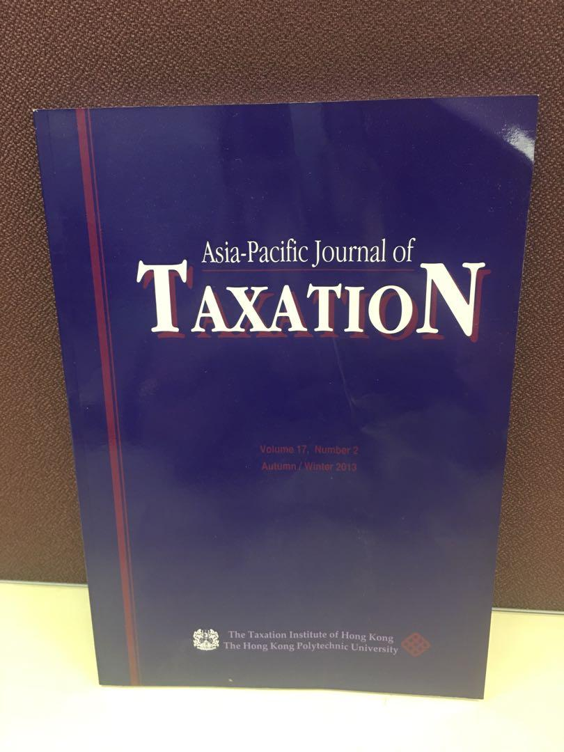 Asia-Pacific Journal of Taxation