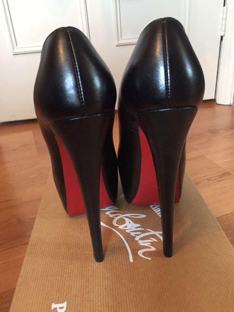 Authentic Louboutin Daffodile Pumps